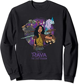 Disney Raya and the Last Dragon Raya and Crew Sweatshirt