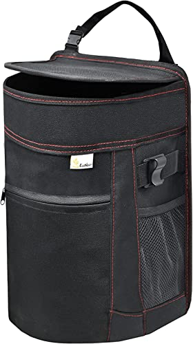 popular EcoNour Car Trash Can for Back Seat   Waterproof Trash Can for sale Cars   Odor Blocking Car 2021 Trash Bag   Storage Pockets with Removable Inner Liner   Keeps Your SUV, Van, Minivan and Truck Clean online sale