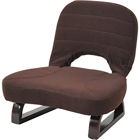 山善(YAMAZEN) あぐら座椅子 AGR-45(DBR)