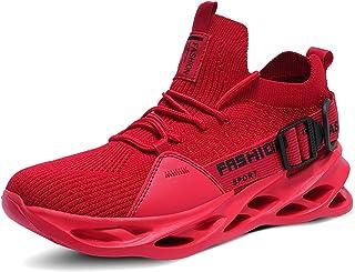 حذاء مشي رجالي خفيف الوزن مريح وسهل الارتداء لممارسة رياضة البولينج والجري