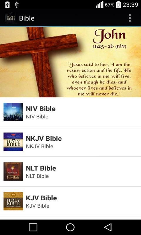 Bible ESV NASB NIV NKJV NLT