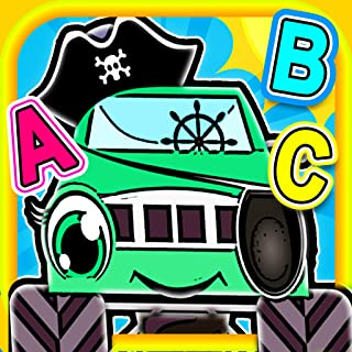 Pirate Preschool Monster Trucks - Help rescue the machines and solve puzzles!