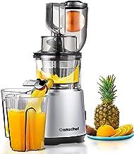 Juicer Machines AMZCHEF Slow Juicer Slow Masticating Juicer Cold Press Juicer Vegetable&Fruit Extractor Reverse Function Q...