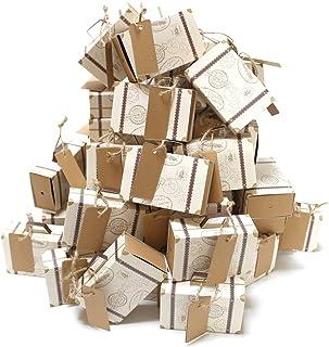 【 選べる100個セット 】iikuru ギフトボックス アクセサリー ギフト 箱 ラッピング ボックス ジュエル プレゼント 包装 パッケージ y866
