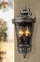 Casa Marseille Traditional Outdoor Light Fixture Veranda Bronze Scroll 17