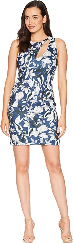 Cut Out Floral Sheath