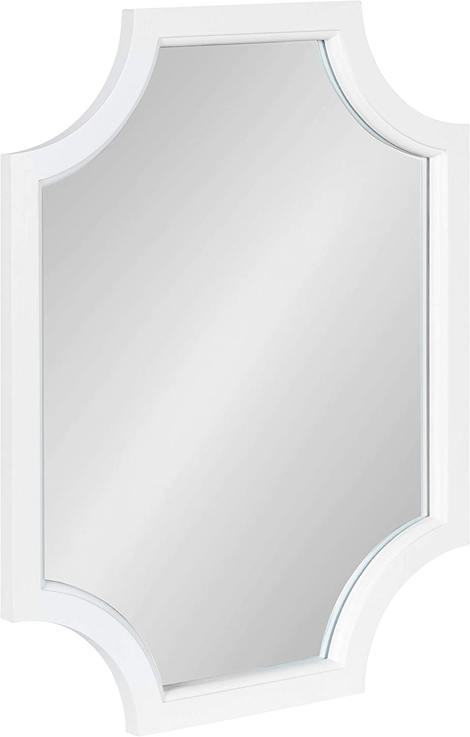 Don't miss the campaign Kate and Max 60% OFF Laurel Hogan Modern Scallop 18 x White Mirror 24 Wall