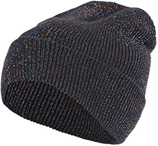 URIBAKE Baggy Slouchy Beanie Unisex Motley Crochet Wool Knitted Winter Warm Ski Skull Caps Hat