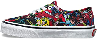 Vans Authentic Youth Unisex Casual Sneakers, Size 7, Color Multi/True White