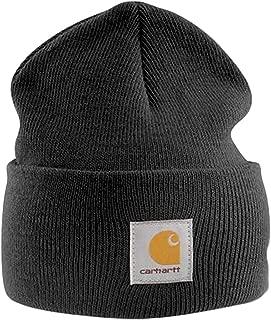 Acrylic Watch Cap - Black Winter Ski Hat, Beanie…