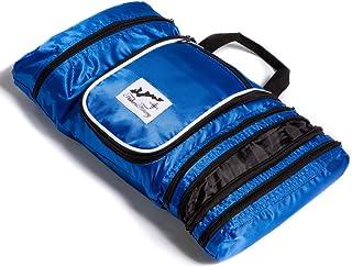 حقيبة أدوات الزينة المعلقة بتصميم صائدي الصيد حقيبة سفر منظم الحمام, , ازرق - LT-04-TLB-805-BLU-U