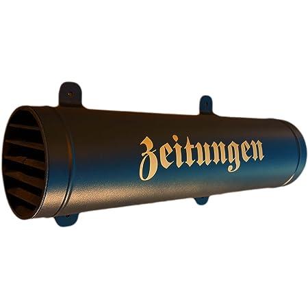 und UV-beständig Schwarz Matte Zeitungsrolle Zeitungsbox Zeitungsfach Wetter