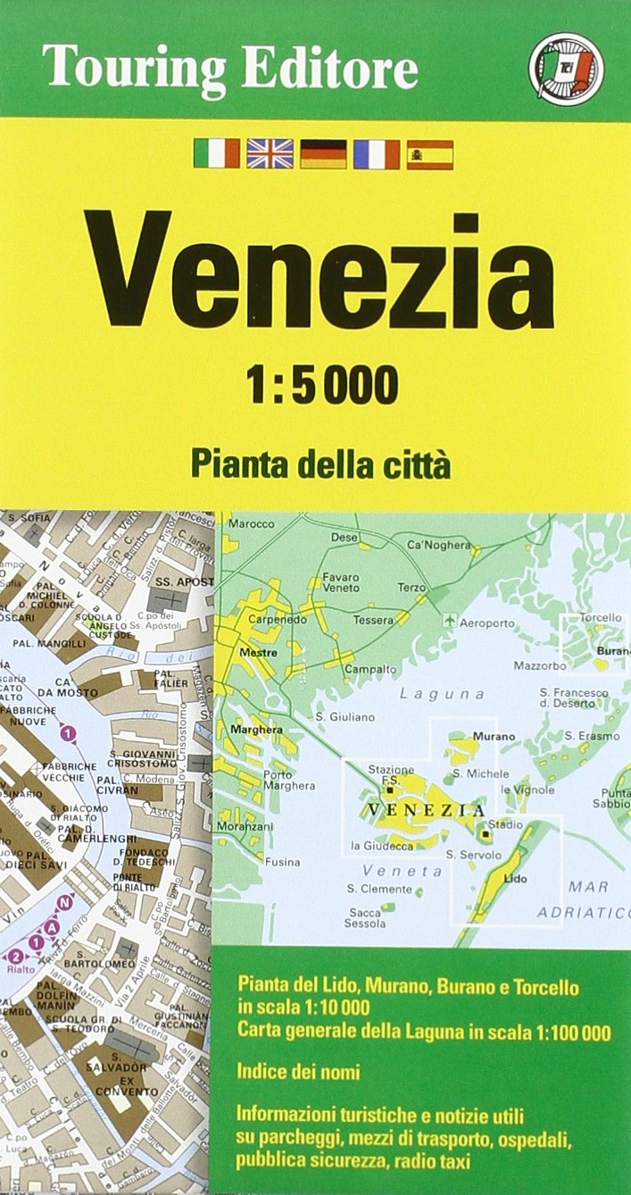 Download Venezia 1:5.000. Ediz. Multilingue 