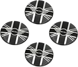 UK Flag Car Rim Hub Cover Emblem Badge Decal for Mini Cooper Clubman Countryman Paceman,52mm AutoERA Union Jack British Flag Wheel Center Caps Stickers 4pcs