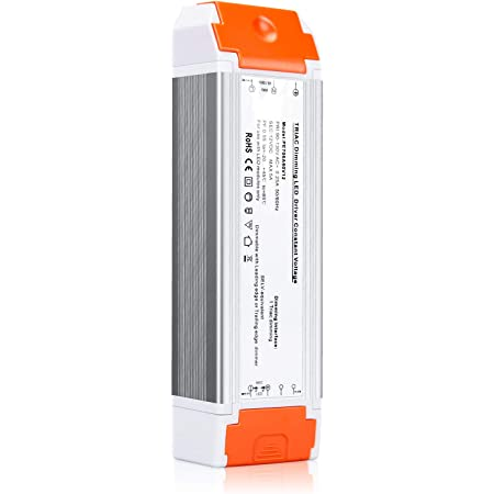 Led Driver 12v DC 60w quiet operation universal regulated 12v transformer dimmable Input/Output Isolation Protection led transformer dimmable for led light