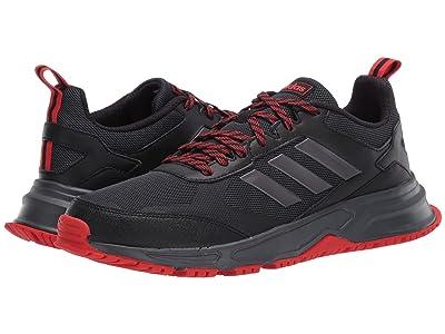 adidas Running Rockadia Trail 3.0 (Core Black/Night Metallic/Active Red) Men