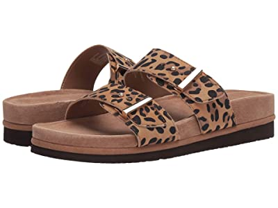 Earth Canyon Ruby (Brown Multi Silky Suede Leopard Print) Women