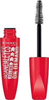 Rimmel London Scandal Eyes Volume On Demand Mascara, Black, 12 ml
