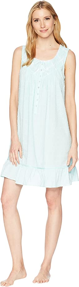 Cotton Circle Clip Dot Short Chemise