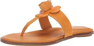 Taryn Rose Women's Kaori Slide Sandal, marigold, 8.5 M M US