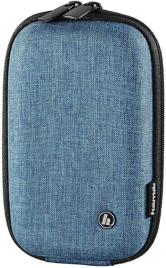 Hama Hardcase Trinidad Kameratasche 80 L Blau Koffer Rucksäcke Taschen