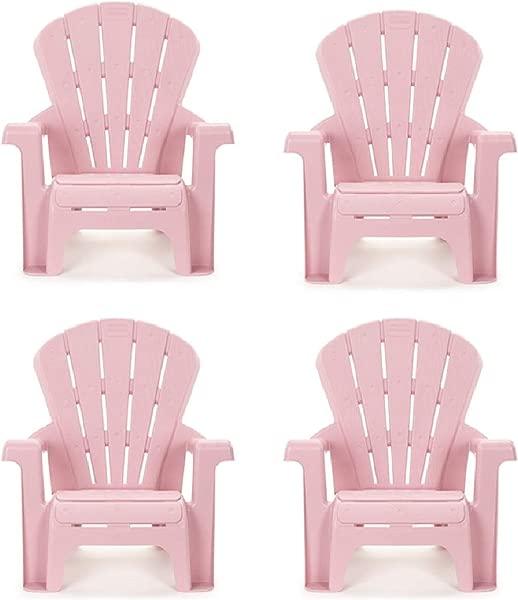 Little Tikes 花园椅 4 Pieces Pink
