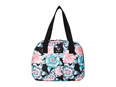 Roxy Kids Tiny House Lunch Bag (Anthracite Crystal Flower) Bags