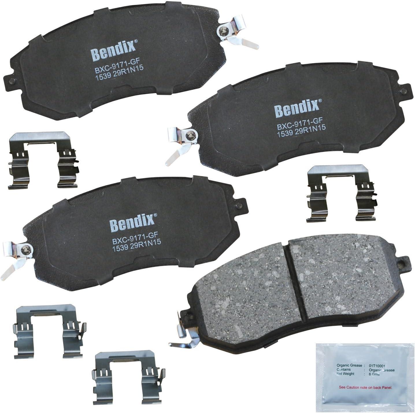 Dallas Mall Bendix Premium Copper Free gift CFC1539 with Insta Brake Ceramic Pad