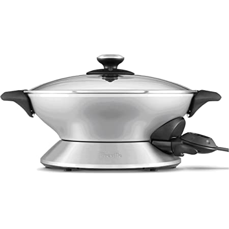 Breville BEW600XL Hot Wok, Brushed Stainless Steel