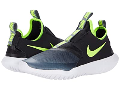 Nike Kids Flex Runner (Big Kid) (Smoke Grey/Volt/Black/White) Kids Shoes