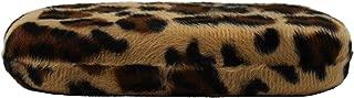 Hard Shell Eyeglass Case Clamshell Animal Print for Small to Medium Frames, Reading Glasses for Women Men