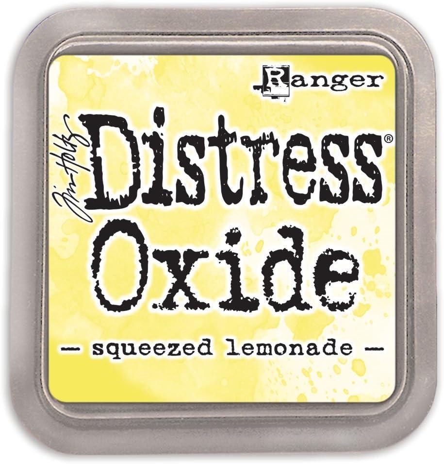 Ranger Tim Holtz Distress Oxide overseas Ink Lemonade - Squeezed Pad New popularity