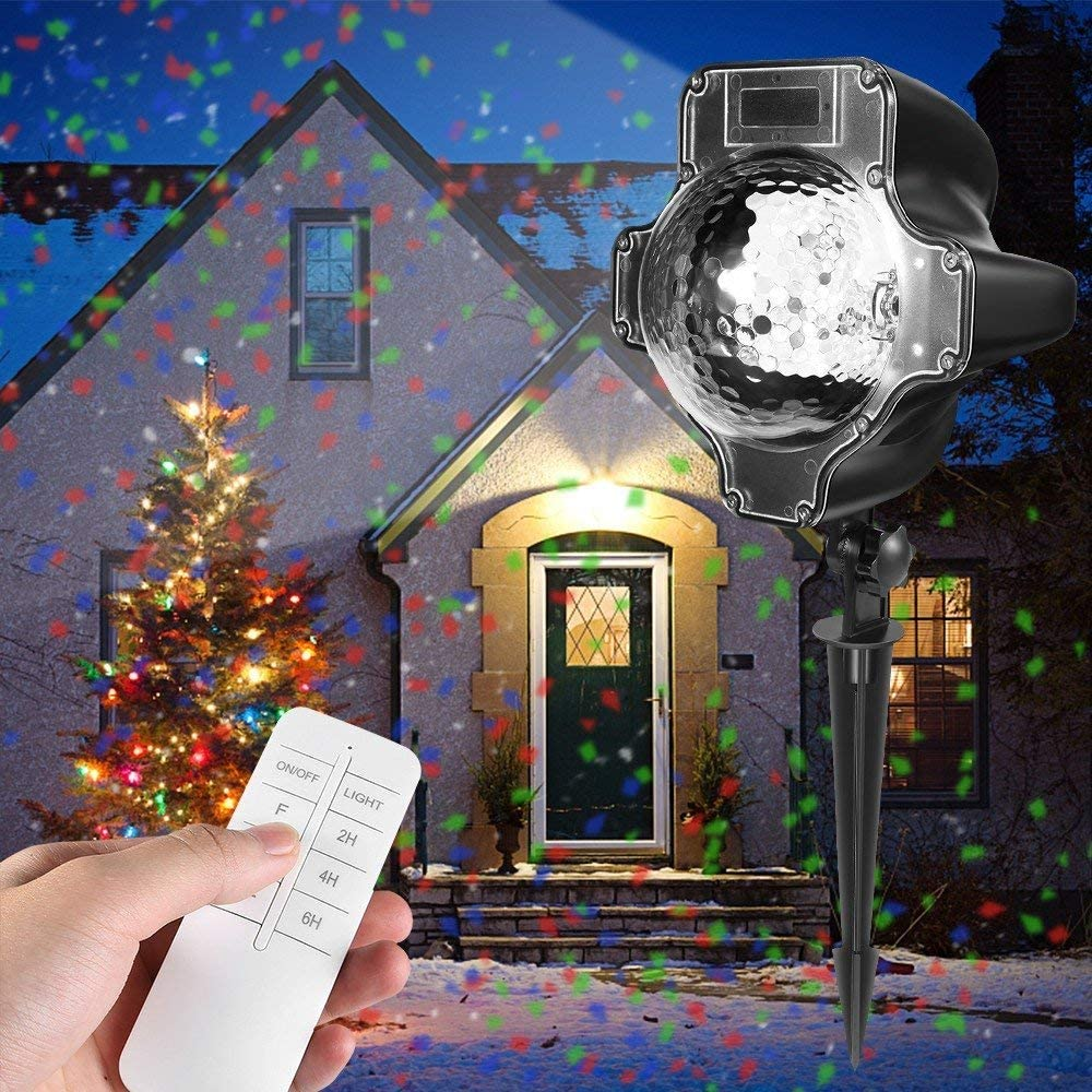 Christmas Projector New product!! Lights Genuine Womsky IP65 Rotating Spar Waterproof