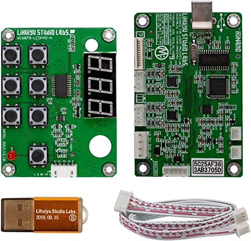 2021 LIHUIYU CO2 Laser Controller lowest Suit high quality M2 Nano Mainboard + Control Panel +Cable + Dongle B System for Engraver Cutter DIY 3020 3040 K40 outlet sale