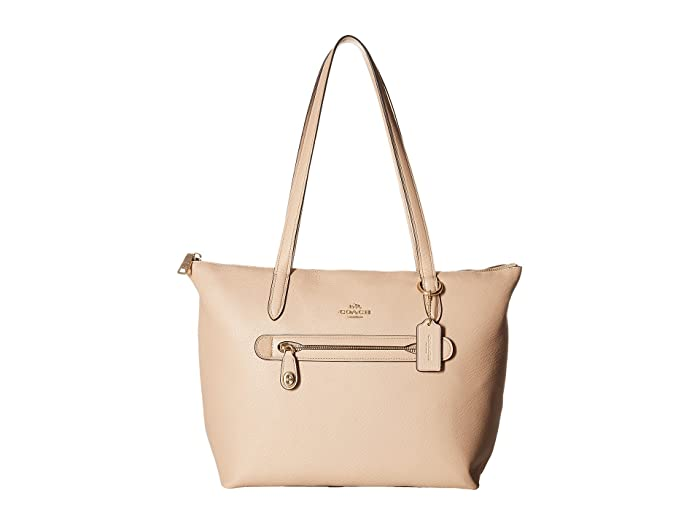 a2f907e45 COACH Taylor Tote in Pebbled Leather at Zappos.com