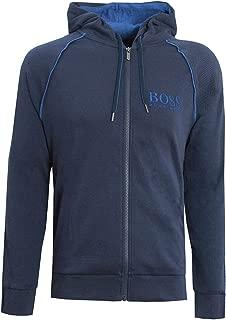 Mens Hooded Loungewear Heritage Jacket Navy 50403154 435
