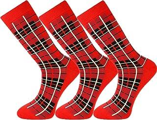 Mysocks Mens Ankle Tartan Socks