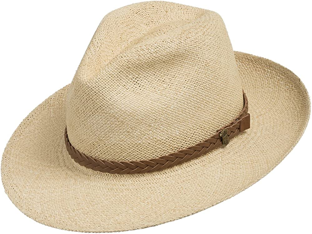 Ranking TOP20 ULTRAFINO Fedora Packable Foldable Straw Max 57% OFF Hat Classic Panama