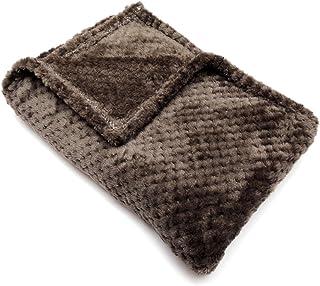 ブランケット ひざ掛け ふわふわ 小さめ フランネル ボア かわいい 大判 おしゃれ 暖かい 柔らかい 毛布 洗濯可