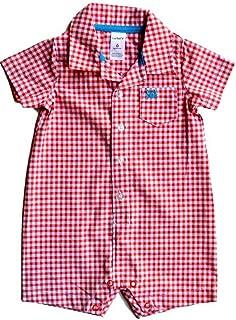 Just One You CARTERS Infant Boys One Piece Outfit Chien /& Plaid 18 M ou 24 M Neuf avec étiquettes
