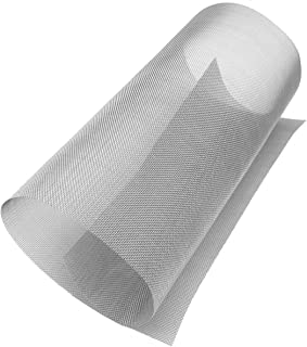 REMOPEST Stainless Steel Woven Wire Mesh Roll, Metal Mesh Sheet, Window Screen Mesh - 20 Mesh 11.8 X 23.6 Inch (30cmX60cm)