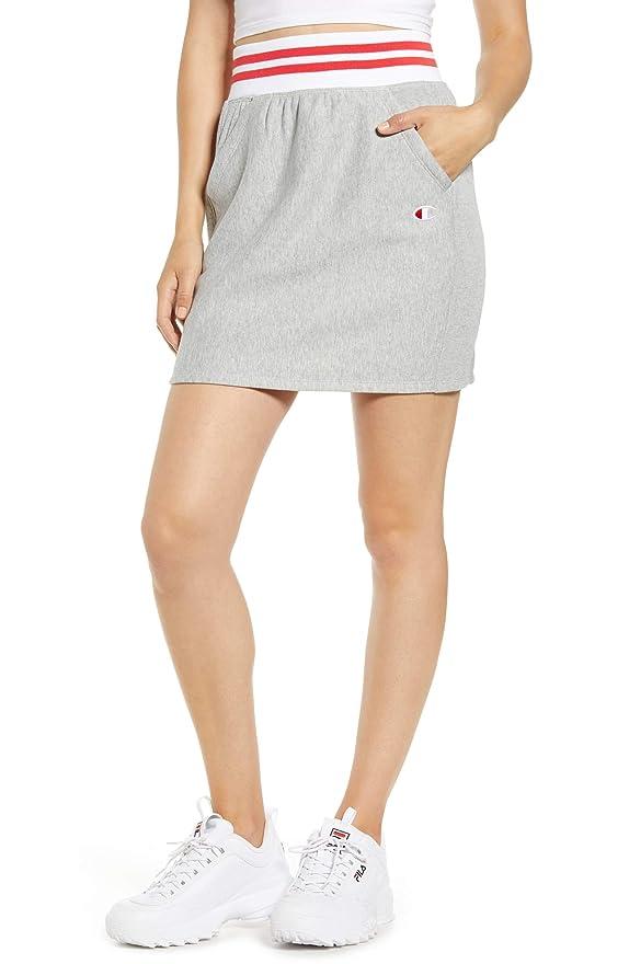 悲しむ過半数発信[チャンピオン] レディース スカート Champion Yarn Dyed Stripe Waist Skirt [並行輸入品]