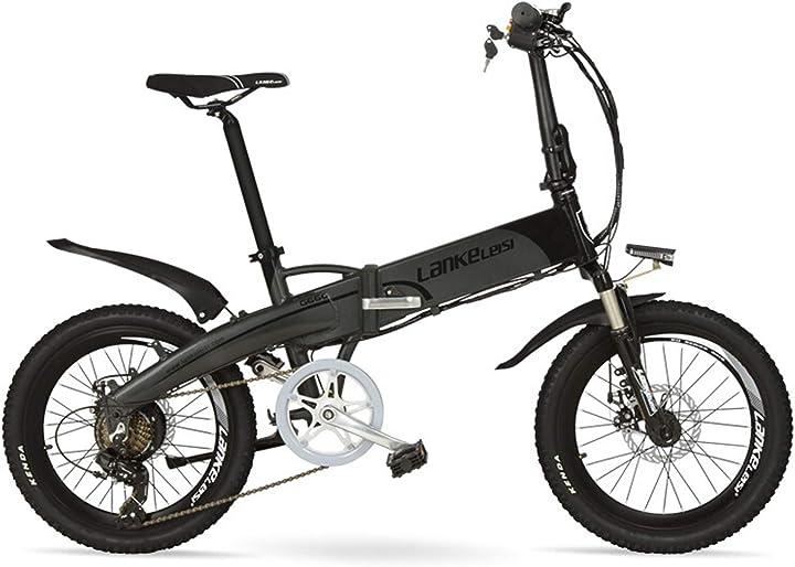 Bicicletta a pedalata assistita, motore da 400w, telaio in lega di alluminio battery 20