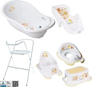Bañera de bebé con marco y asiento de baño - Diferentes