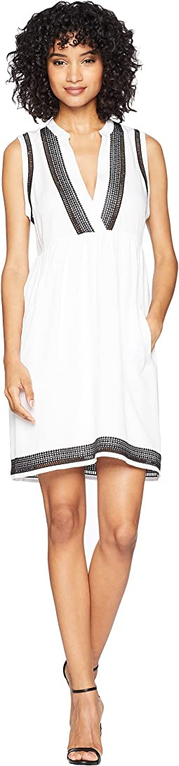 Acelynn Embroidered Shift Dress