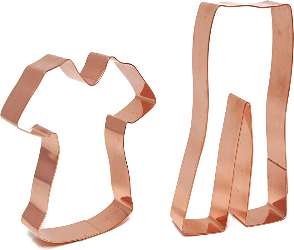 Hospital Scrubs Copper Cookie Cutter Set By The Fussy Pup