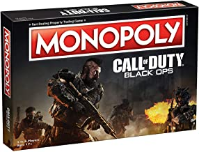 Monopoly Call of Duty Black Ops Board Game | Based on Call of Duty Black Ops Video Game | Themed Classic Monopoly Game