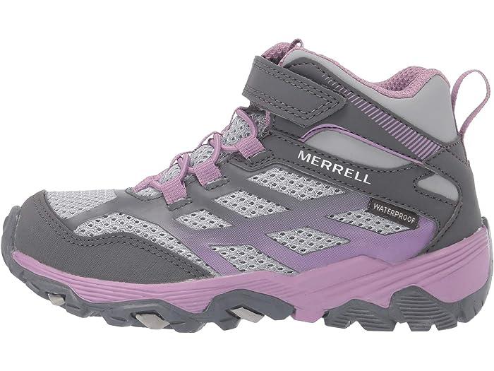 Little Kid//Big Kid Merrell Moab Fst Mid A//C Waterproof Sneaker