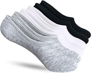No Show Socks Women 6-9 Pairs Non Slip for Vans Converse Slip on