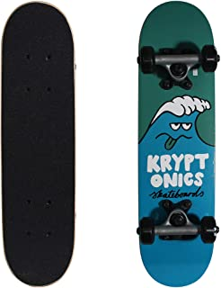 Kryptonics Locker Board Complete Skateboard